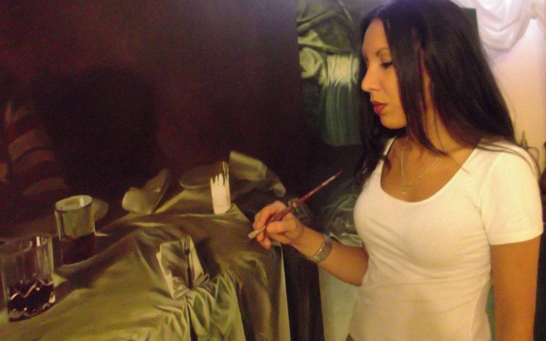 Carmen Testa pittrice, scultrice e medaglista