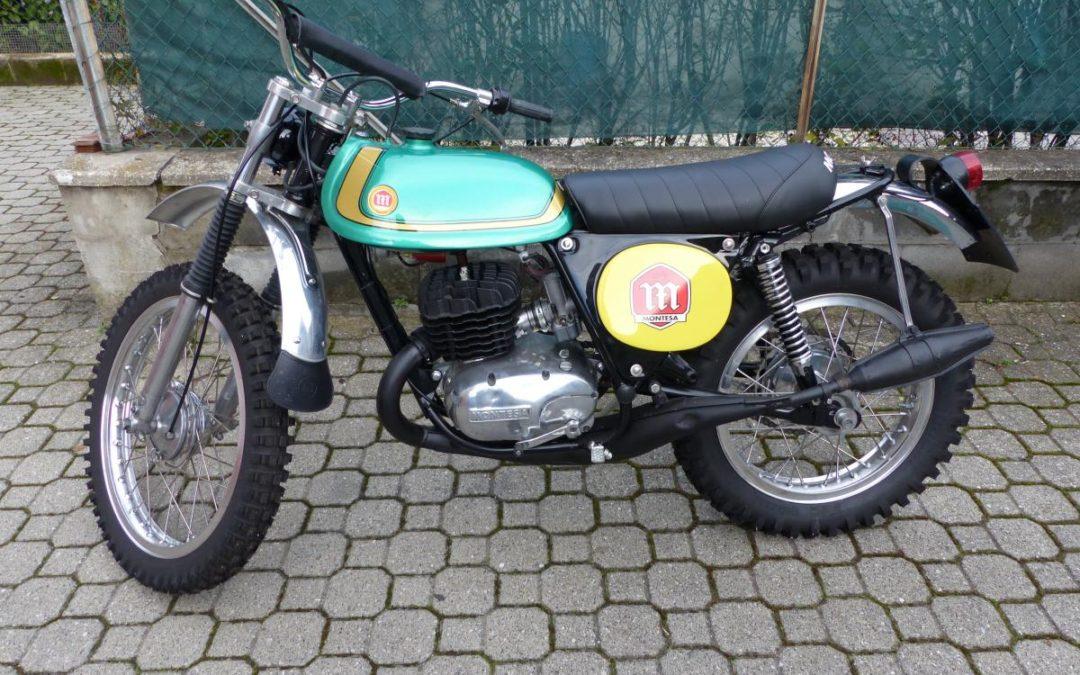 Vendo Montesa King Scopion 250 del '74