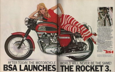 BSA Rocket 3 750: la moto di Flash Gordon