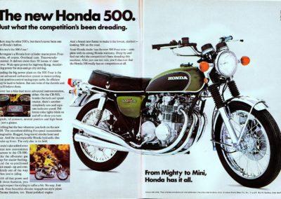 Honda CB 500 1971 (Usa)