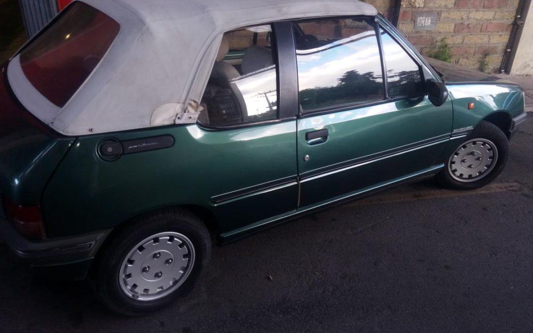 Peugeot 205 Roland Garros cabrio