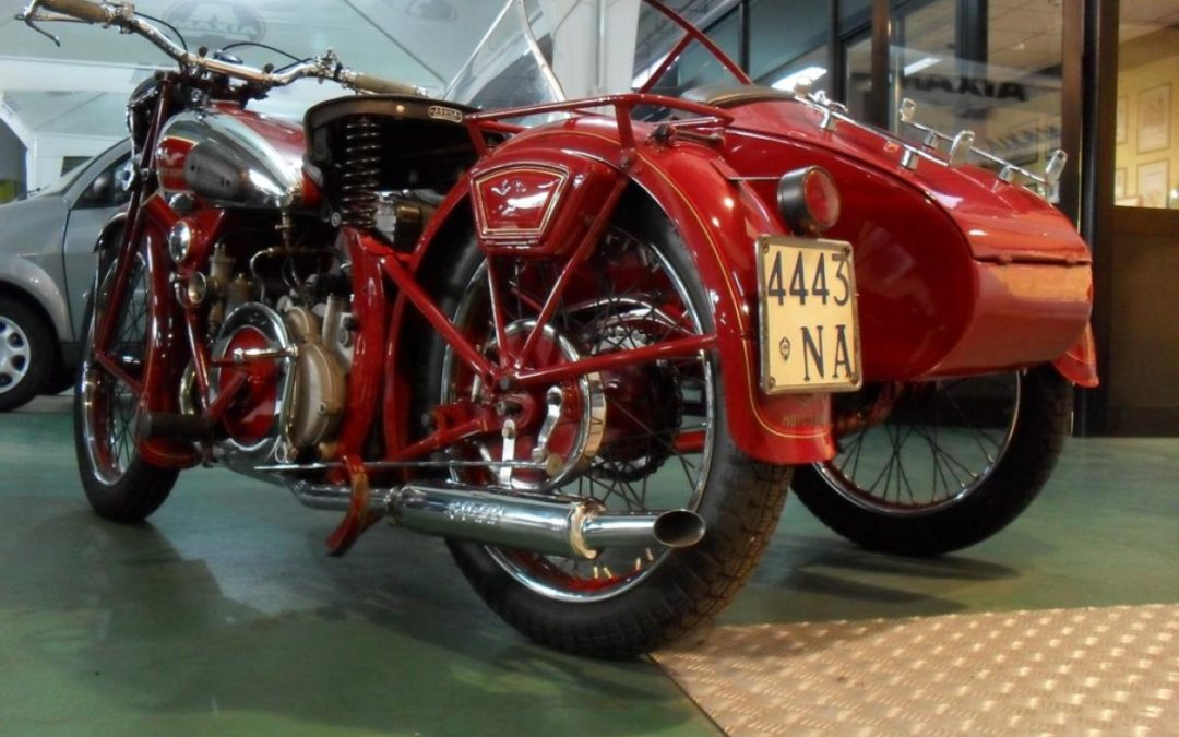 MOTO GUZZI S 500 SIDECAR 1935