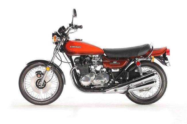 Kawasaki Z1 900 – L'indimenticabile Geisha
