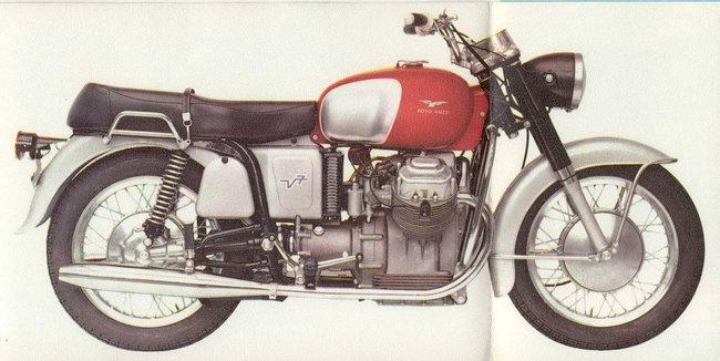 La storia delle Moto Guzzi V7 – I bufali di Mandello