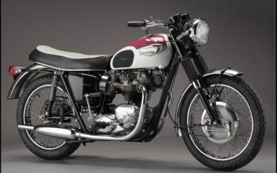 Triumph Bonneville T120 1958