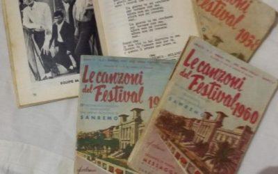 Canzoni del festival di San Remo