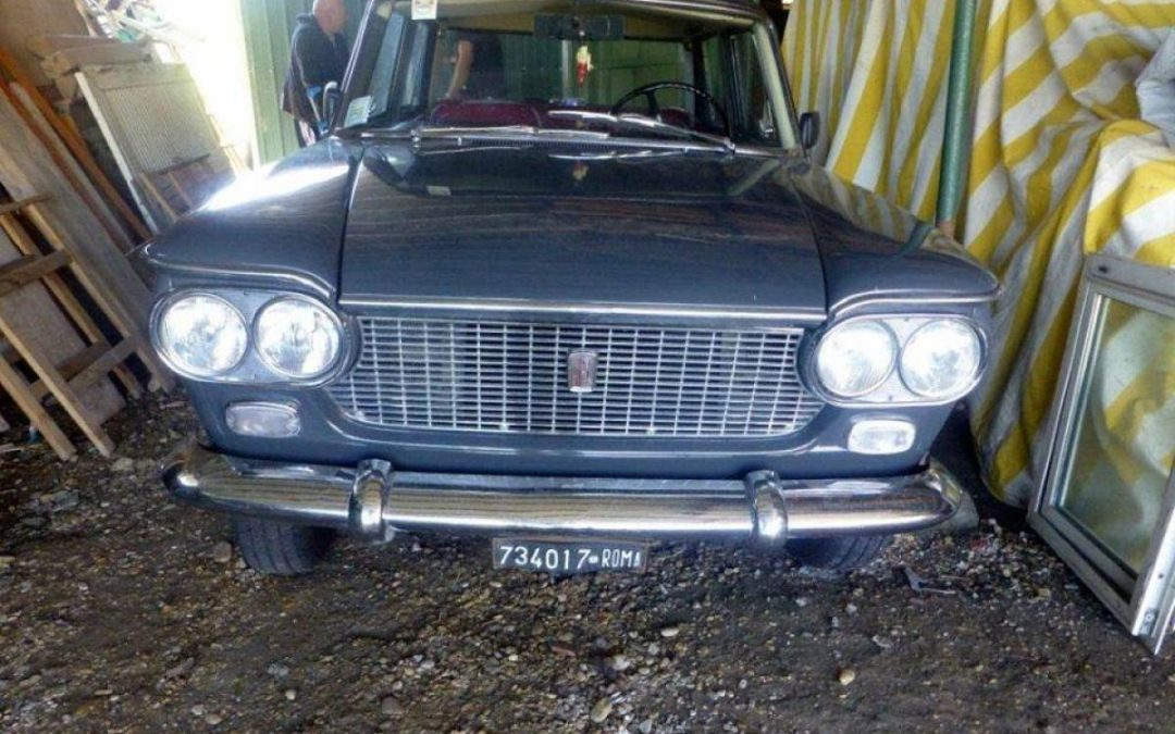 Fiat 1300 del 1963 iscritta ASI