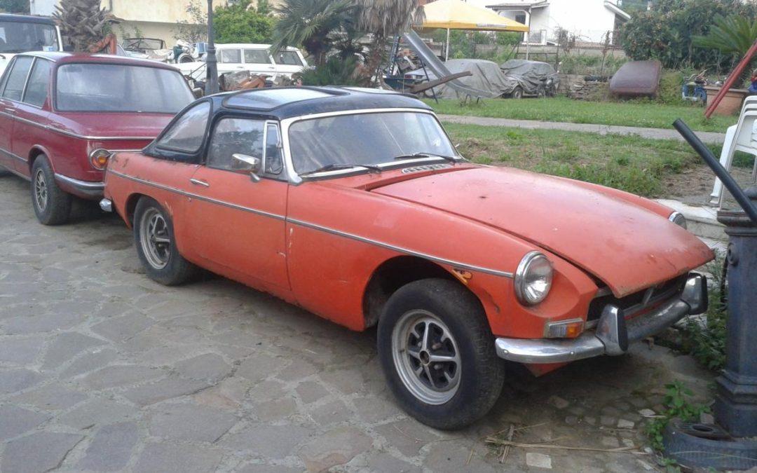 MGB spider 1800 1973