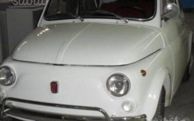 Fiat 500 L del 1970 restaurata