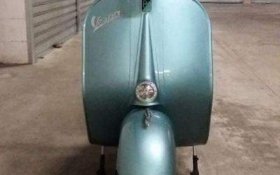 Vespa VB1T 1957 targa originale