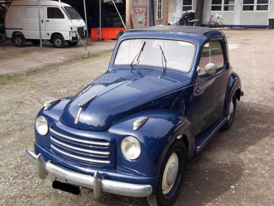 Fiat 500 C TOPOLINO 1950
