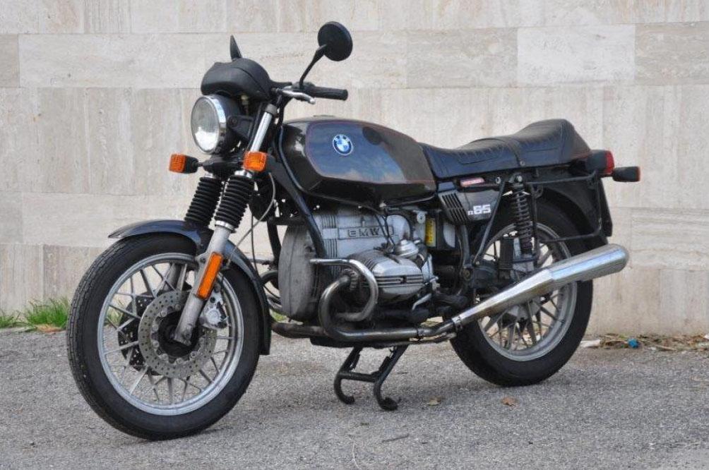 BMW R65 iscritta all'FMI