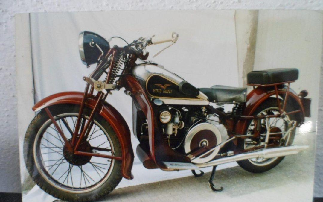 Moto Guzzi GT 16 del 1933