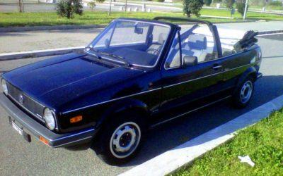 Volkswagen Golf cabrio GL 1100