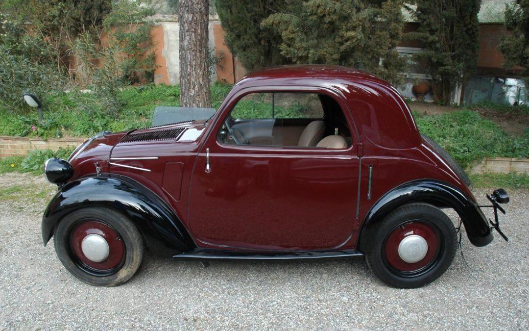 FIAT 500 Topolino balestra corta 1938