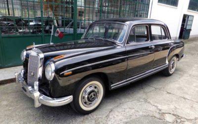 Mercedes 220 S Ponton W 180 II – 1956
