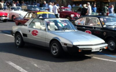 Fiat X 1/9 dove speed