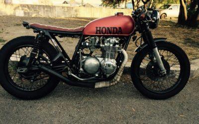 Honda cb500 four café racer