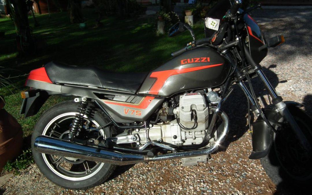 Moto Guzzi V 75 del 1986 A.S.I.