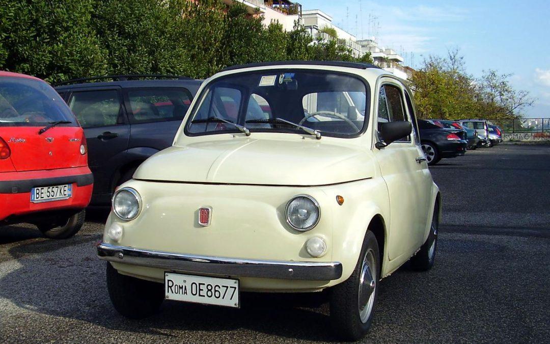 Fiat 500 F del 1967