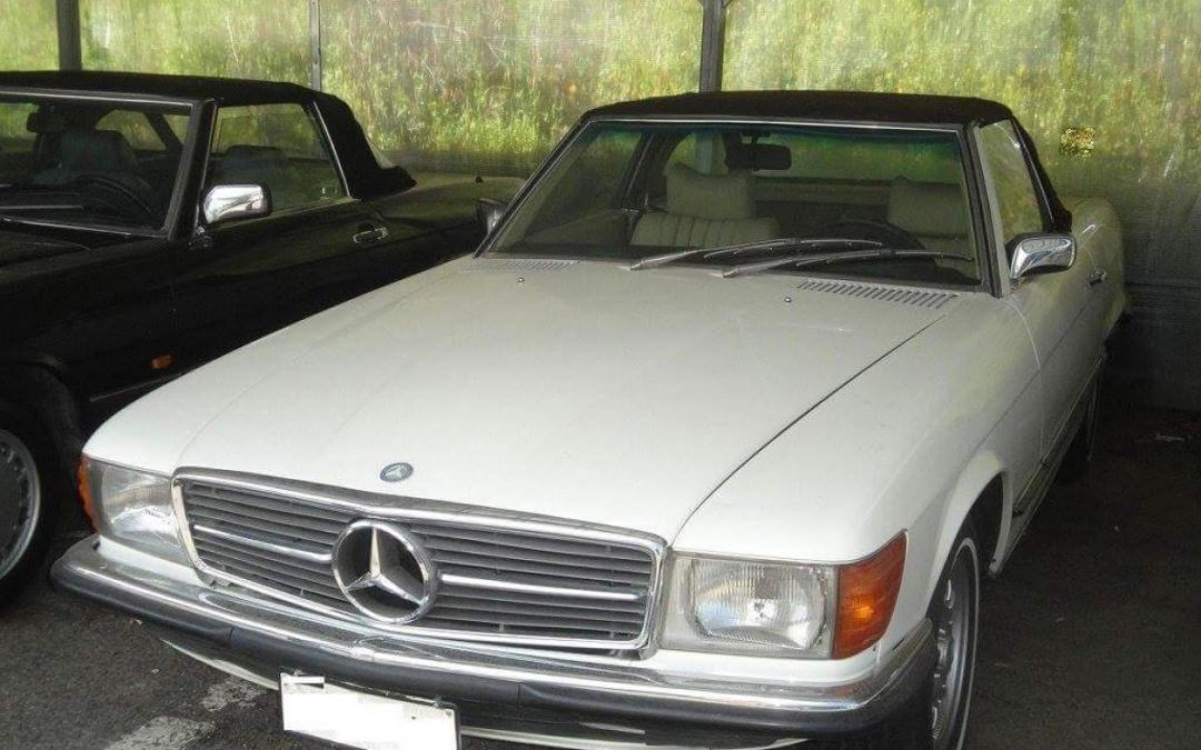 Mercedes 350 SL Roadster 1972