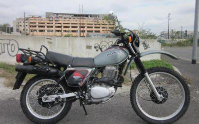 HONDA XL 500 SB