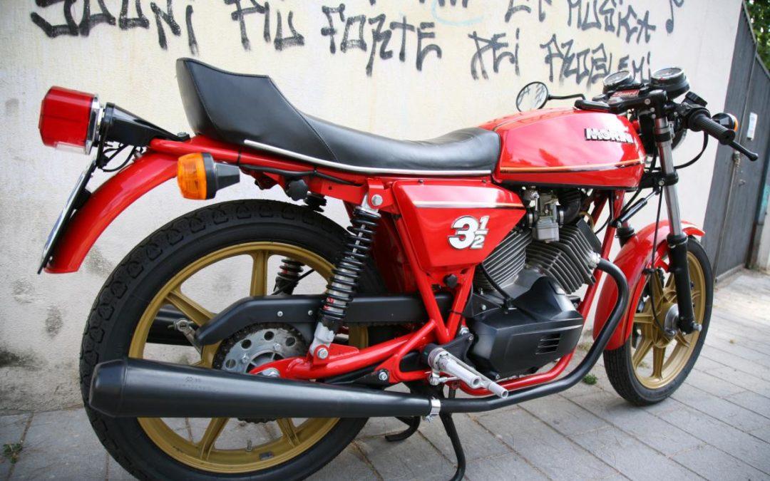 Moto Morini 3 1/2 Sport – 1981