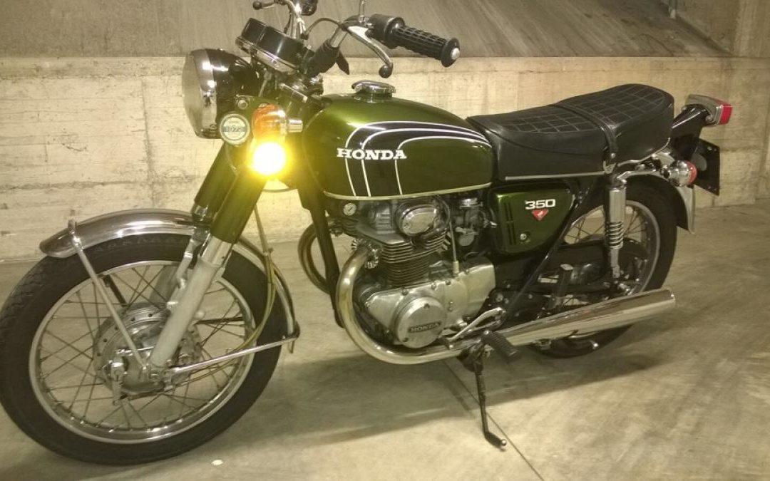 HONDA CB 350 TWIN BICILINDRICA ANNO 1972
