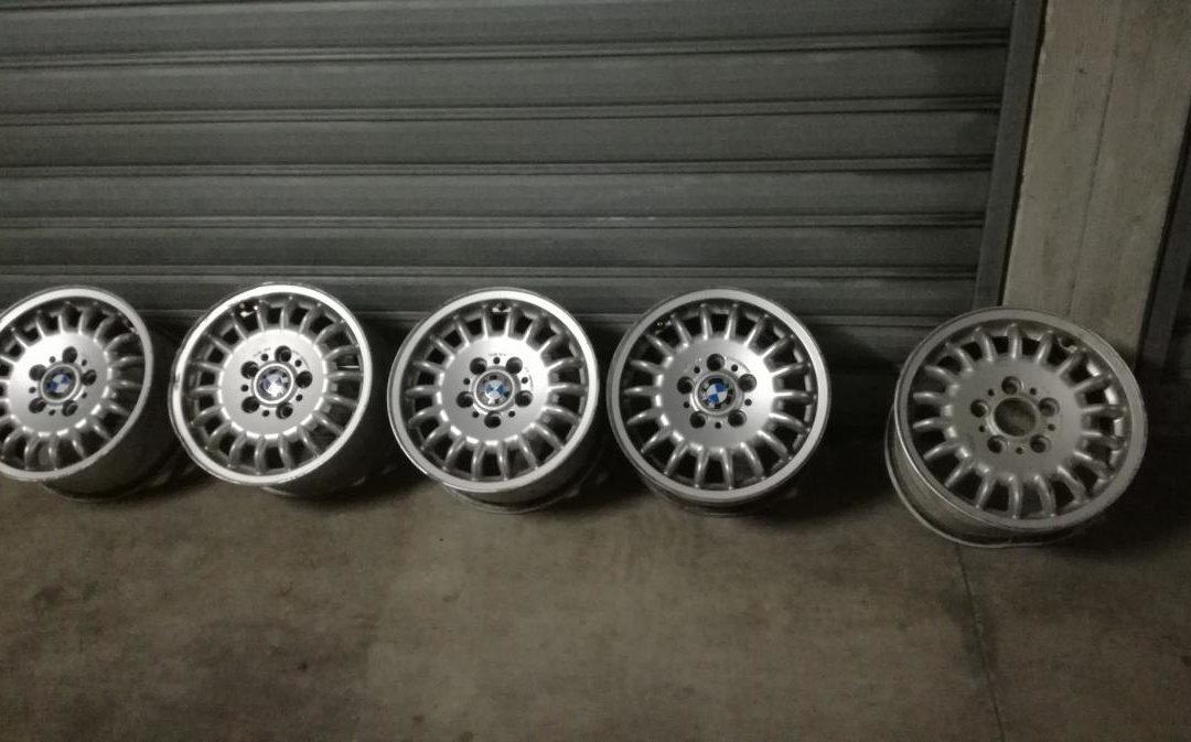 Cerchi in lega originali BMW da 15 per serie 3 E36