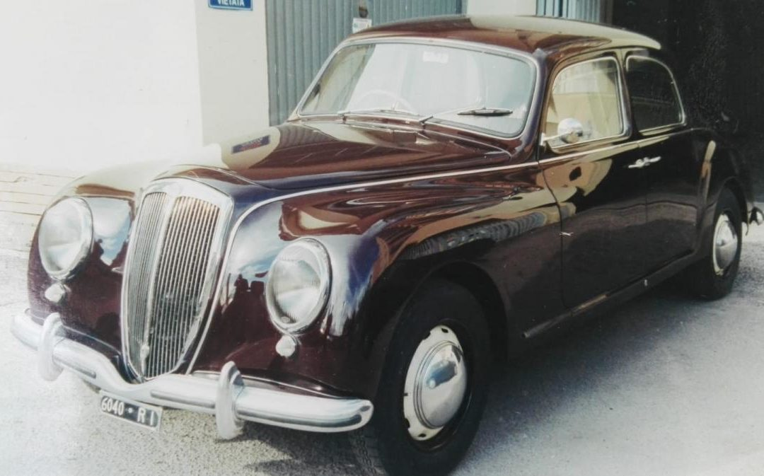 Lancia Aurelia B21 del 1953 targa e documenti originali