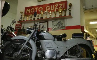 Moto Guzzi Zigolo 98 ASI targa Roma originale conservato