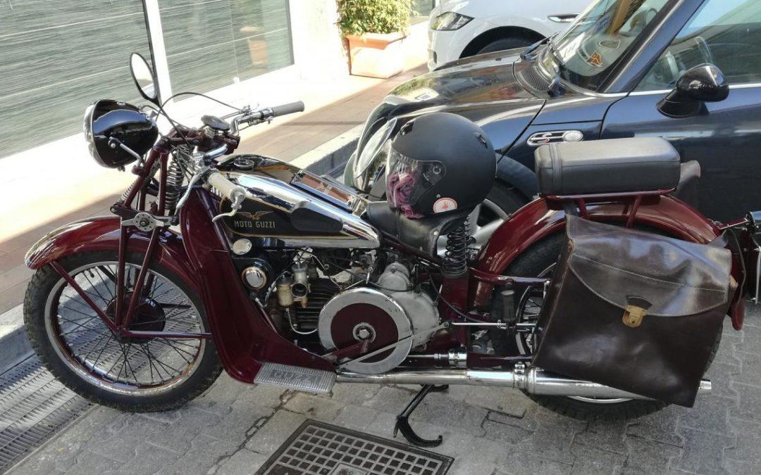 Moto Guzzi GT 500 1933 revisionata da passaggio