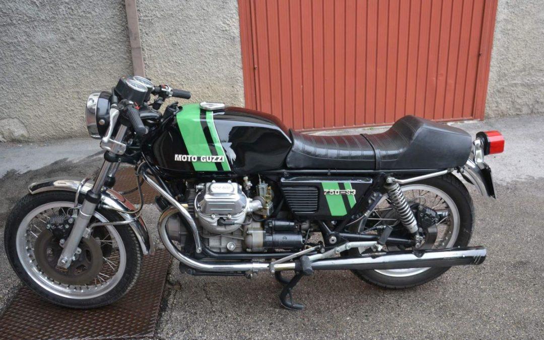 Moto Guzzi 750 s3