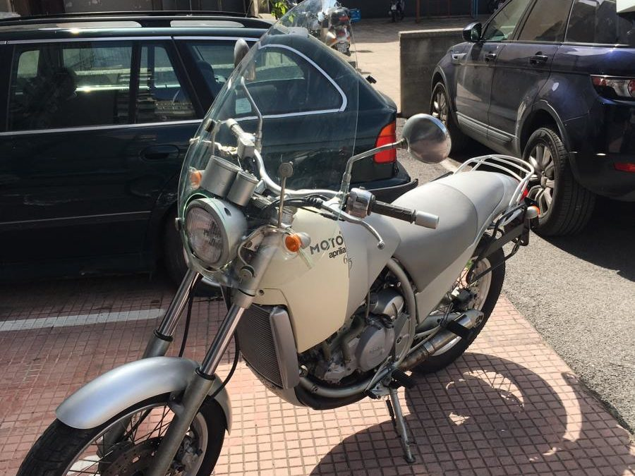 Aprilia moto' 6.5